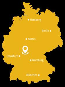 Kartenspinne Deutschland