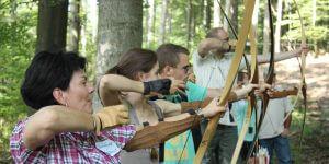Bogenschießen - Rahmenprogramm