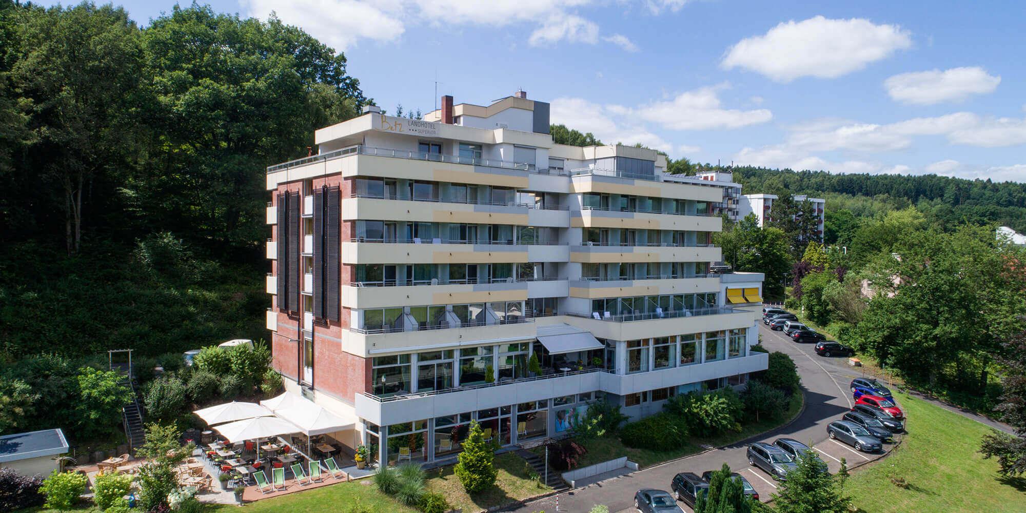 Luftbild Landhotel Betz