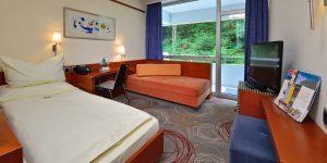 Zweibettzimmer Komfort mit Waldblick zur Einzelbelegung