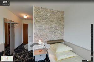 Panorama Einzelzimmer Komfort mit Talblick