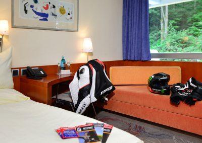 Zweibettzimmer Komfort mit Waldblick