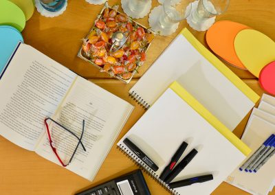 Gruppenarbeit mit viel Kreativität