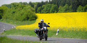 Biker im Vogelsberg
