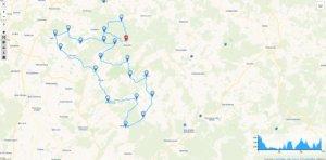 Motorradtour 4 - Schotten und Vogelsberg