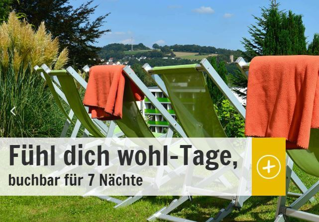 Angebot Fühl-dich-Wohl-Tage