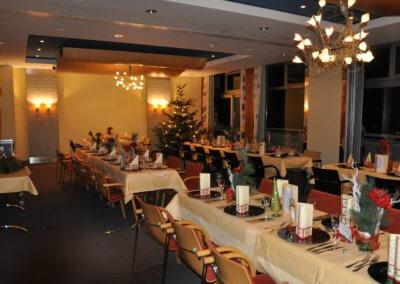 Weihnachtsfeier im Raum Rhön