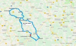 Motorradtour Vogelsberg