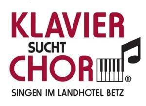Logo Klavier sucht Chor - Singen im Landhotel Betz