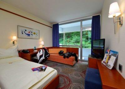 Zweibettzimmer zur Einzelbelegung