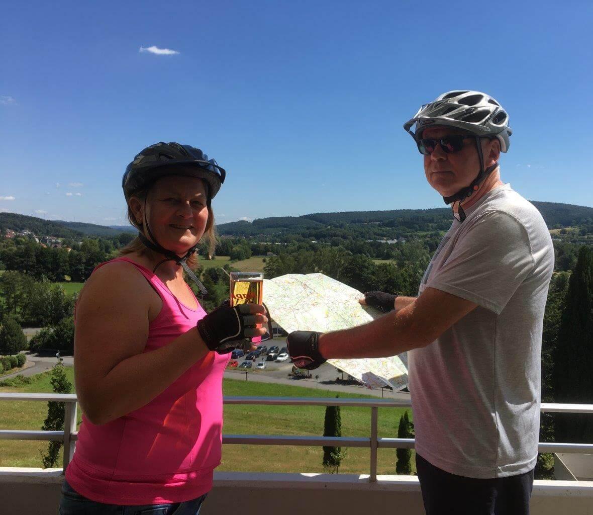 Radfahrer Landhotel Betz